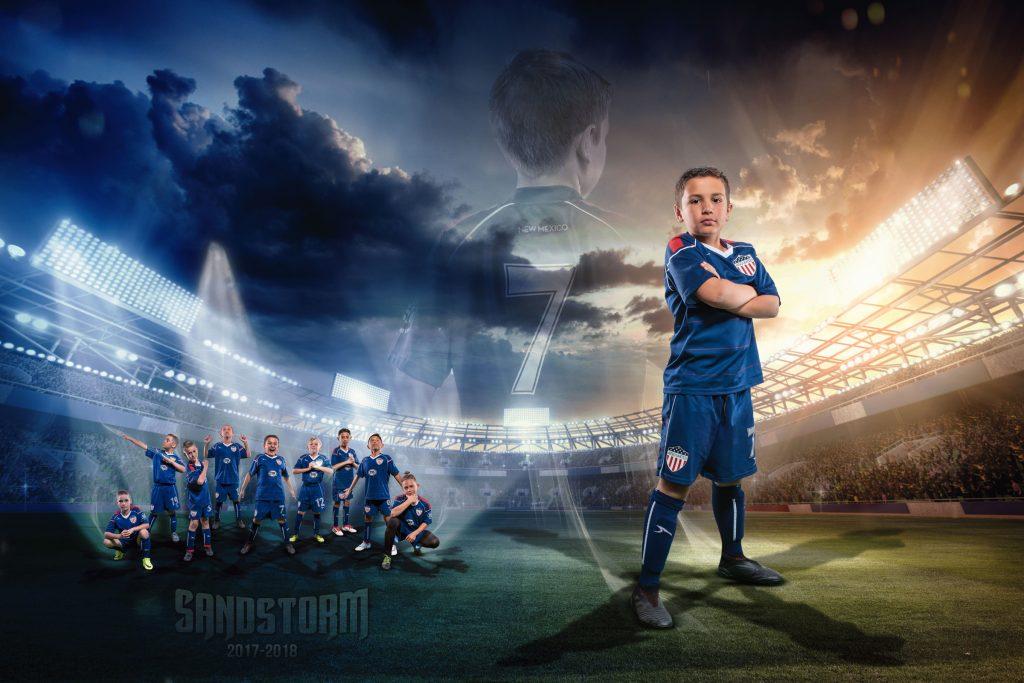 Sandstorm - Soccer poster